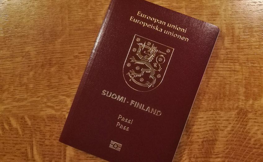 Matkustusasiakirja Ruotsiin
